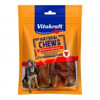Friandises pour chien - Couennes de bœuf Natural CHEWS Vitakraft