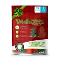Friandises pour chien  - Christmas Tree & Snowman  Whimzees