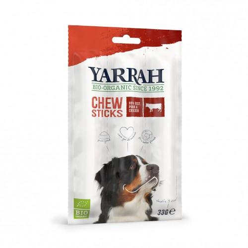 Friandise & complément - Bâtonnets à mâcher biologiques au bœuf pour chiens