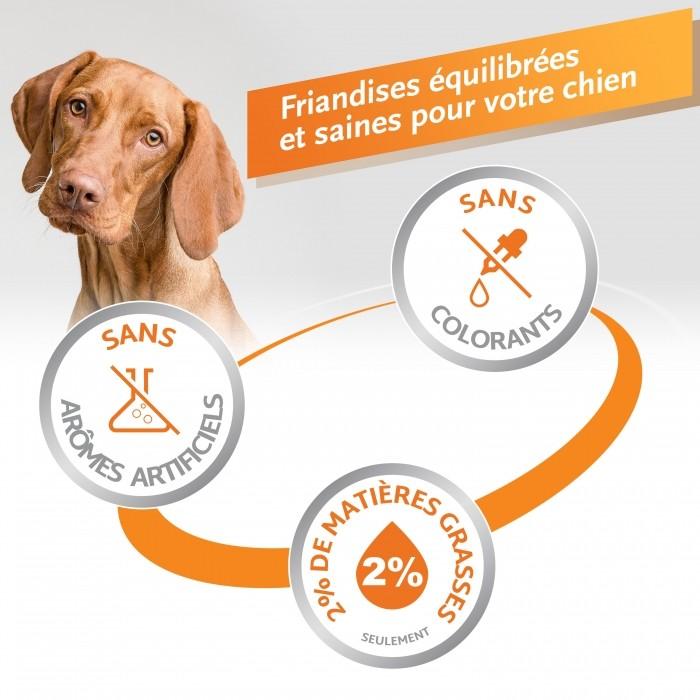Friandise & complément - Os à mâcher Delights pour chiens
