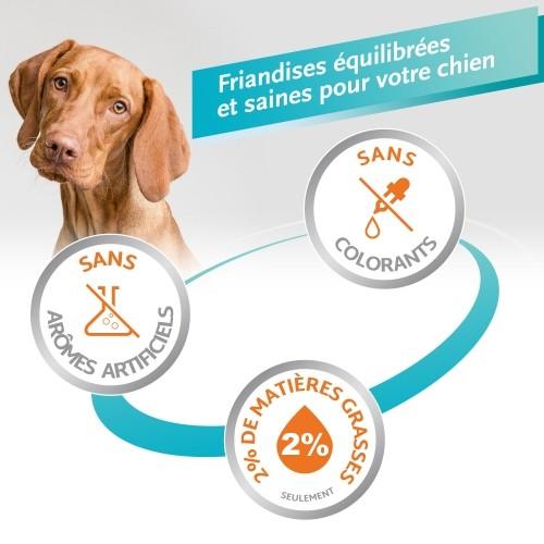 Friandise & complément - Os à mâcher Delights Pro, contre la plaque dentaire  pour chiens