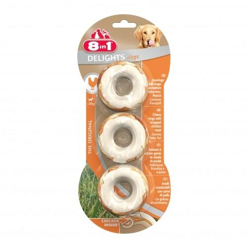 Friandise & complément - Friandises Delights balls & rings pour chiens