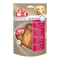 Friandises pour chien - Filets de poulet Pro Skin & Coat 8in1