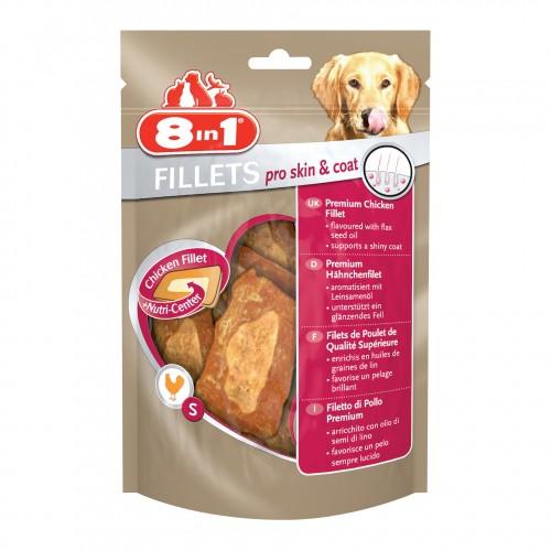 Friandise & complément - Filets de poulet Pro Skin & Coat pour chiens