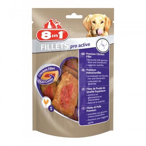 Friandises pour chien - Filets de poulet Pro Active 8 in 1