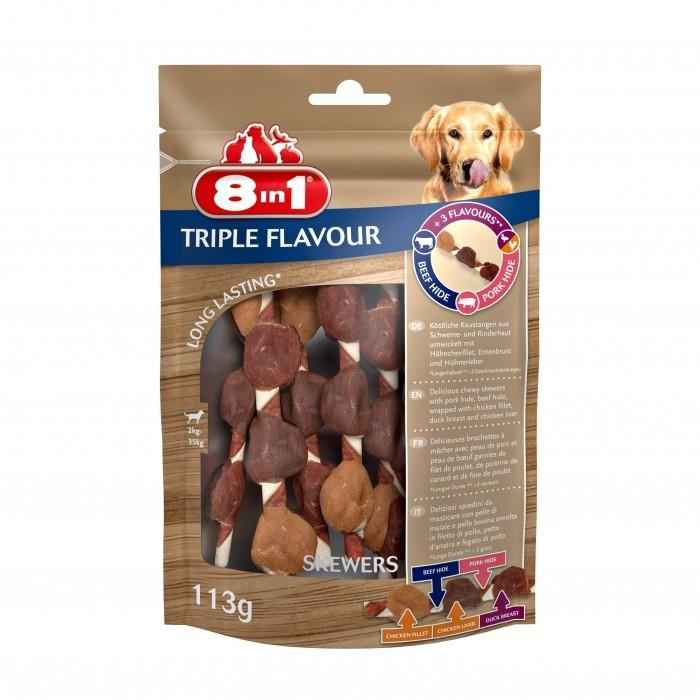 Brochettes Triple Flavour