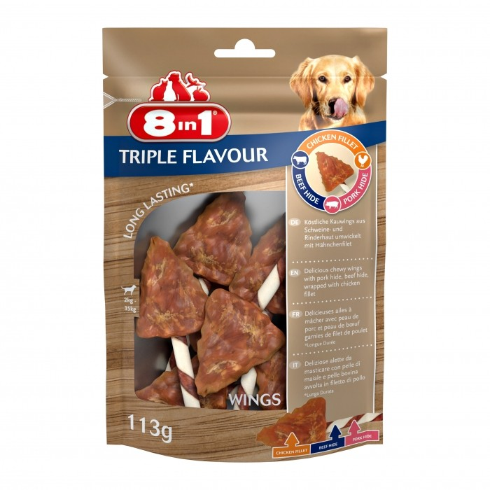 Ailes de poulet Triple Flavour