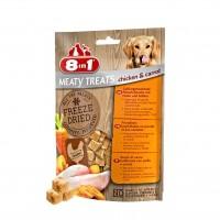 Friandises pour chien - Friandises lyophilisées Meaty Treats 8in1