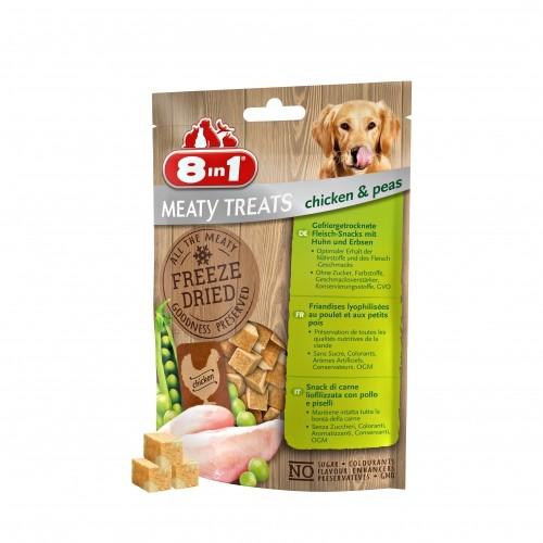 Friandise & complément - Friandises lyophilisées Meaty Treats pour chiens