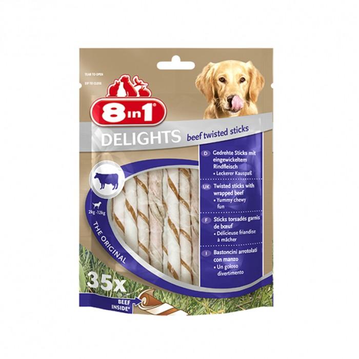 Friandise & complément - Sticks à mâcher Delights Twisted pour chiens