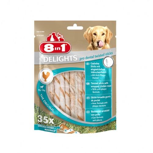 Friandise & complément - Sticks à mâcher Delights Twisted Pro Dental pour chiens
