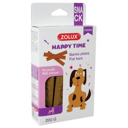 Friandise & complément - Barres plates pour chiens