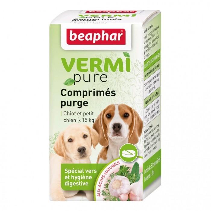 Friandise & complément - Vermipure comprimés Purge - Chiot & petit chien pour chiens