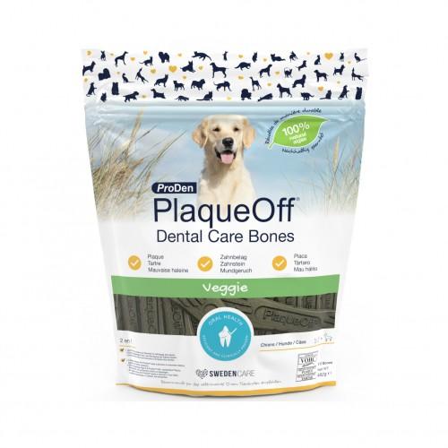 Friandise & complément - PlaqueOff Dental Care Bones Veggie pour chiens