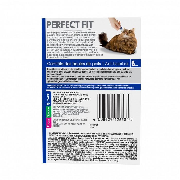 Friandise & complément - PERFECT FIT Contrôle des boules de poils pour chats
