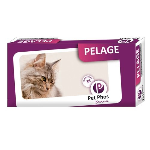 Friandise & complément - Pet-Phos Pelage Chat pour chats