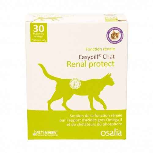 Friandise & complément - Easypill Chat Renal Protect pour chats