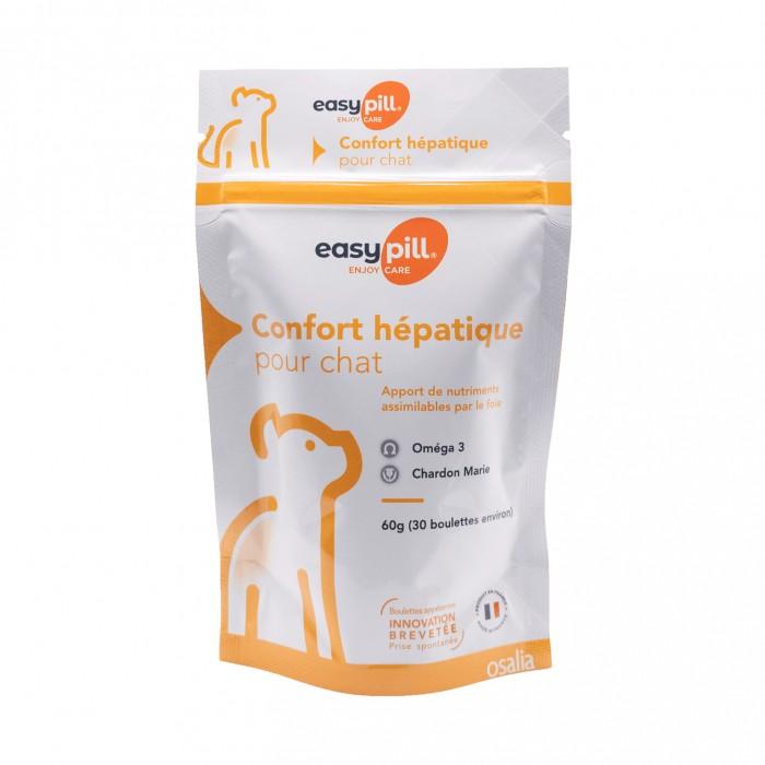 Friandise & complément - Easypill Insuffisance Hépatique Chat pour chats