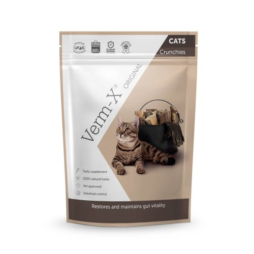 Friandise & complément - Verm-X Cats - Hygiène intestinale pour chats