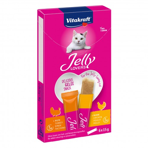 Friandise & complément - Jelly Lovers pour chats