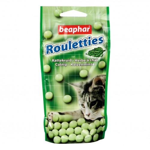 Friandise & complément - Rouletties, friandises avec herbe à chat pour chats