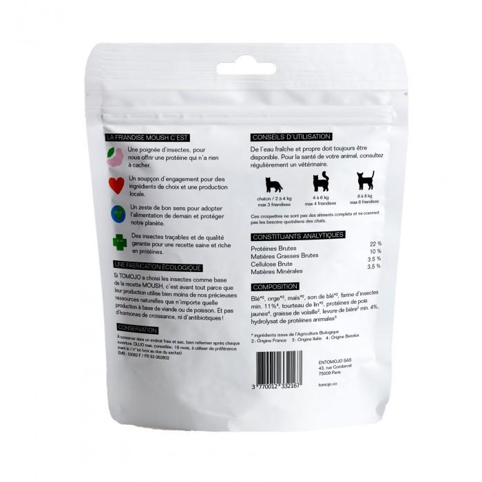 Friandise & complément - MOUSH - Poils soyeux pour chats