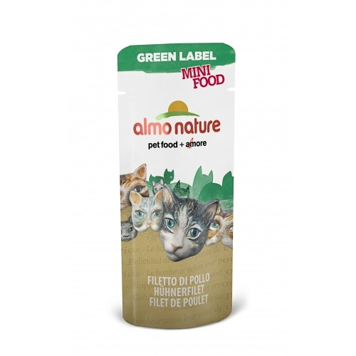 Friandise pour chat - Mini Food Almo Nature Green Label