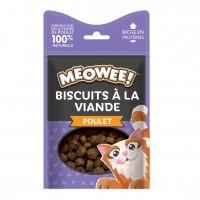 Friandises pour chat - Biscuits à la viande Meowee