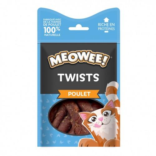 Friandise & complément - Sticks Twists pour chats