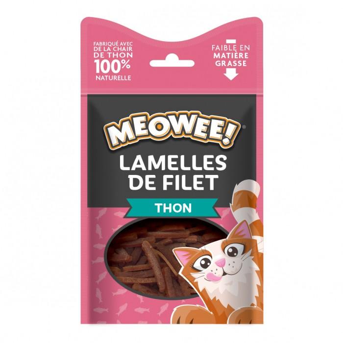 Friandise & complément - Lamelles de filet pour chats