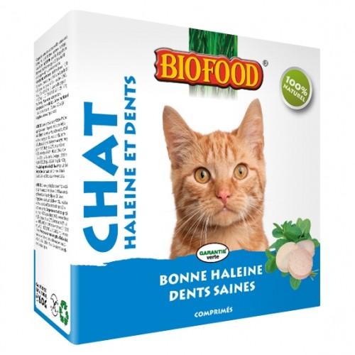 Friandise & complément - Haleine et Dents pour chats