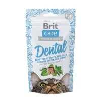 Friandises pour chat - Snack Dental Brit Care
