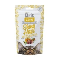 Friandises pour chat - Snack Shiny Hair Brit Care
