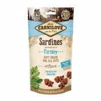 Friandises pour chat - Soft Snack - Sardines et persil Carnilove