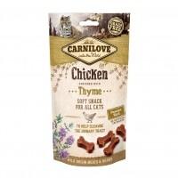 Friandises pour chat - Soft Snack - Poulet et thym Carnilove