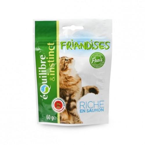 Friandise & complément - Bouchées au saumon pour chats