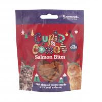 Friandises pour chat - Bouchées de Noël au saumon Rosewood