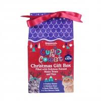 Friandises pour chat - Coffret cadeau de Noël Rosewood