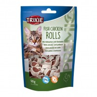 Friandises pour chat - Premio Fish Chicken Rolls Trixie