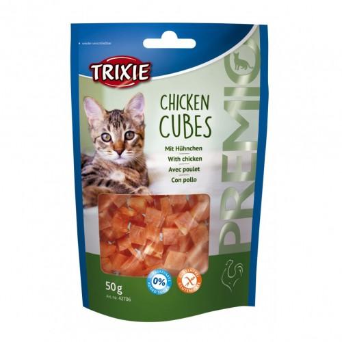 Friandise & complément - Premio Cubes & Premio Rolls Light pour chats