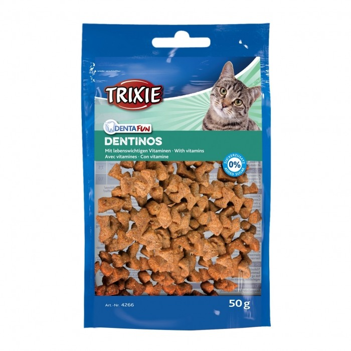 Friandise & complément - Denta Fun Dentinos pour chats