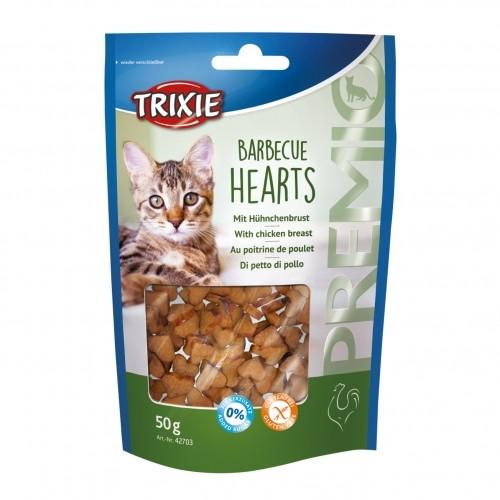 Friandise & complément - Premio Barbecue Hearts pour chats