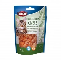 Friandises pour chat - Premio Cheese Chicken Cubes Trixie