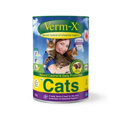 Friandise & complément - Verm-X pour chat pour chats