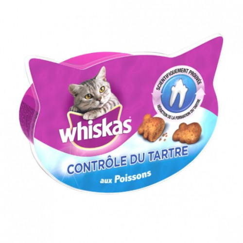 Friandise & complément - Friandises Contrôle du tartre pour chats