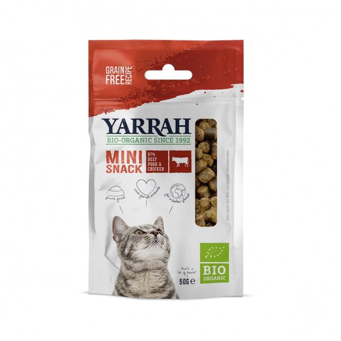 Friandise & complément - Mini snack biologique pour chats