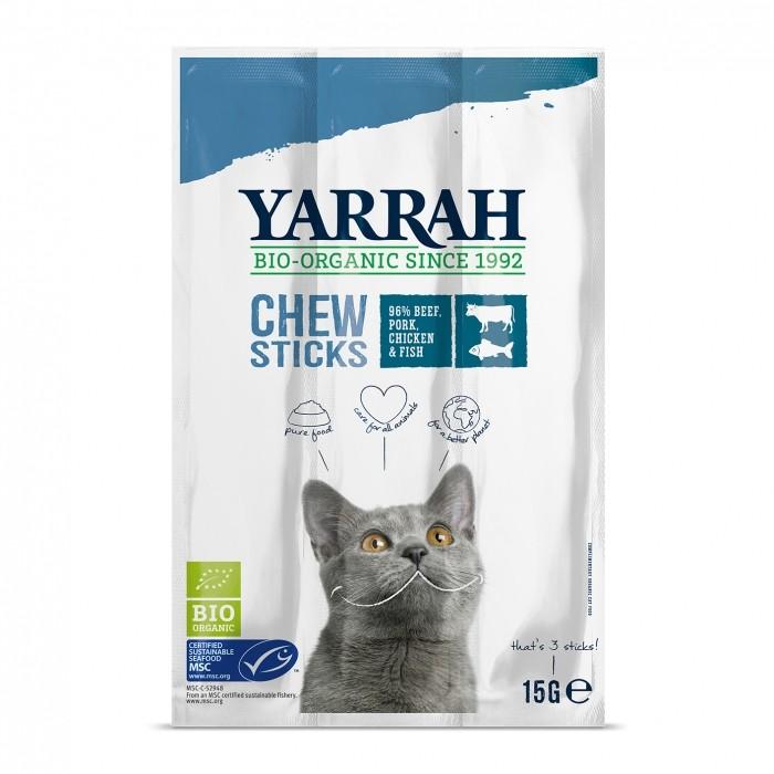 Friandise & complément - Bâtonnets à mâcher biologiques pour chats