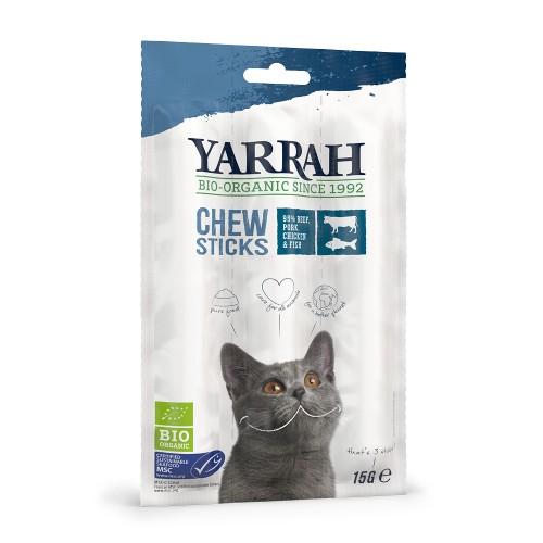 Friandise & complément - Sticks à mâcher Bio pour chats