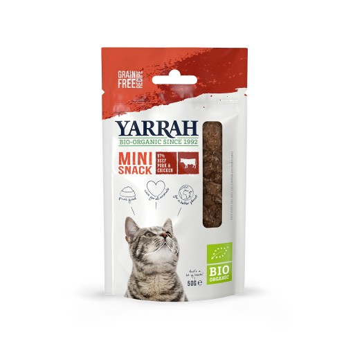 Friandise & complément - Mini Snack Bio pour chats
