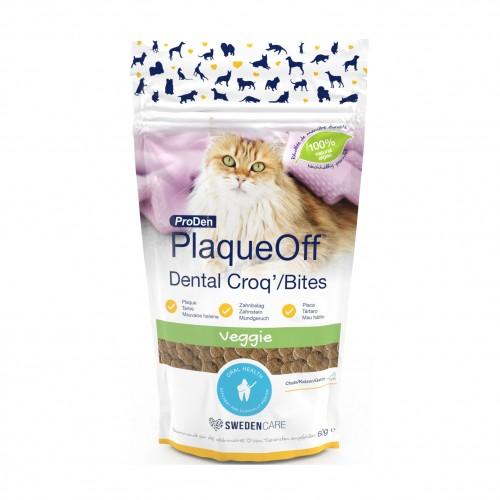 Soin et hygiène du chat - PlaqueOff Dental Croq' pour chats